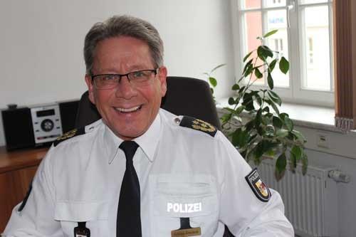 Polizeipräsident Nils Hoffmann-Ritterbusch